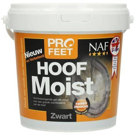 NAF ProFeet Hoof Moist Black Cheval