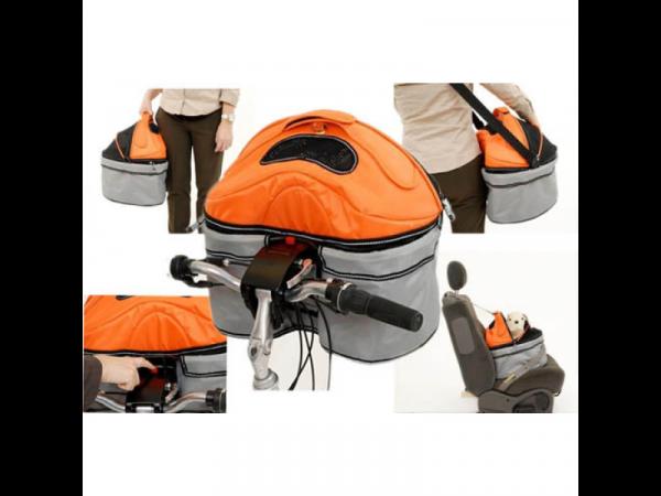 Sac de vélo Pod I Love Orange/Gris