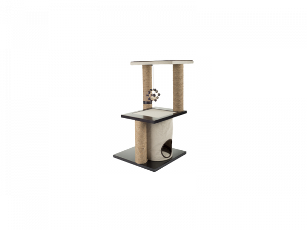 Arbre à Chat AFP Classic Comfort Two Level Climb and Play Scratcher
