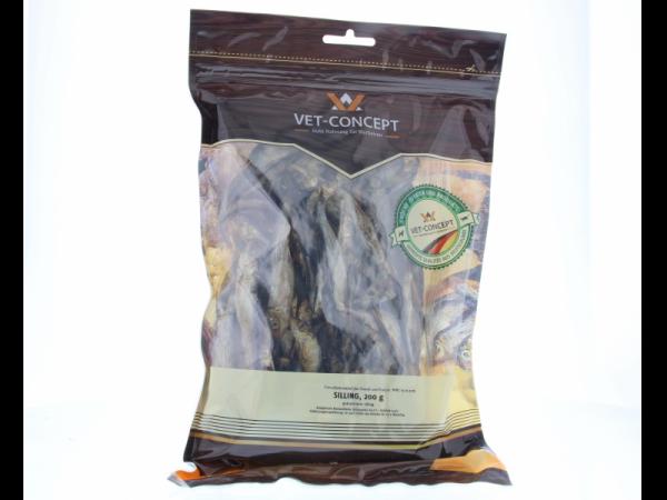 Vet-concept Poisson séché à l'air Snack Chien Chat 200 grammes