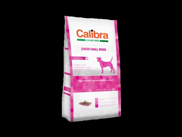 Calibra Dog Grain Free Junior Small Breed Duck & Potato