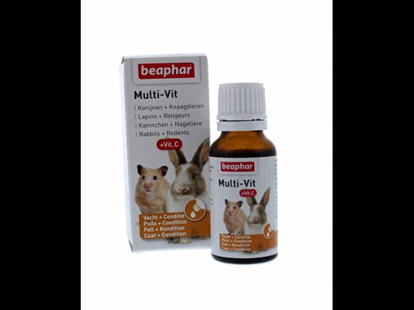 Beaphar Multi-Vit Rongeur 20 ml