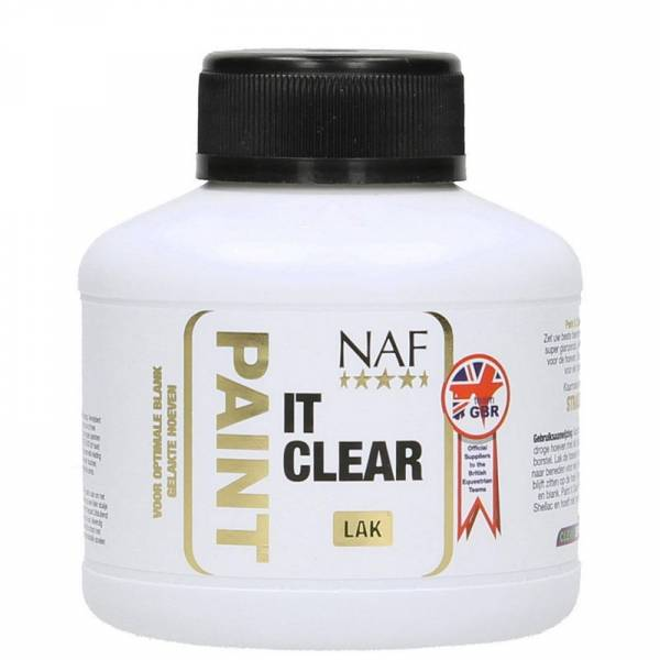 NAF Paint It Clear Laque Sabot Cheval