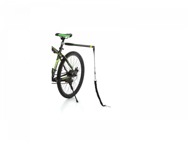 Hands Free Doggy Bike Exerciser Leash accessoire Laisse vélo Chien