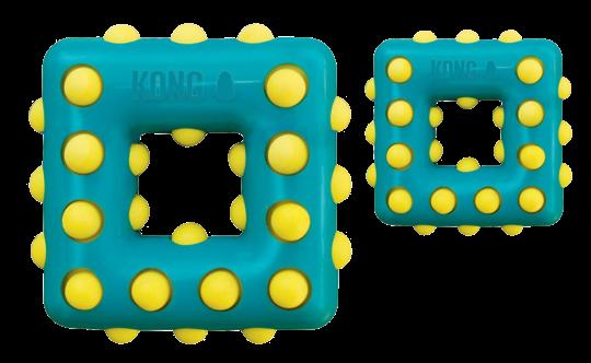 Kong Dotz Square - Jouet à mâcher Chien