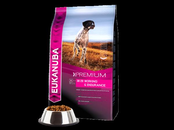 Eukanuba Dog Premium Performance Working en Endurance 15 kg