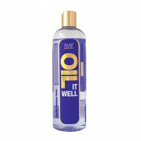 NAF Oil It Well Huile Brillance Cheval 500 ml