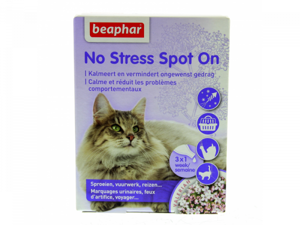 Beaphar No Stress Chat 3 pipettes