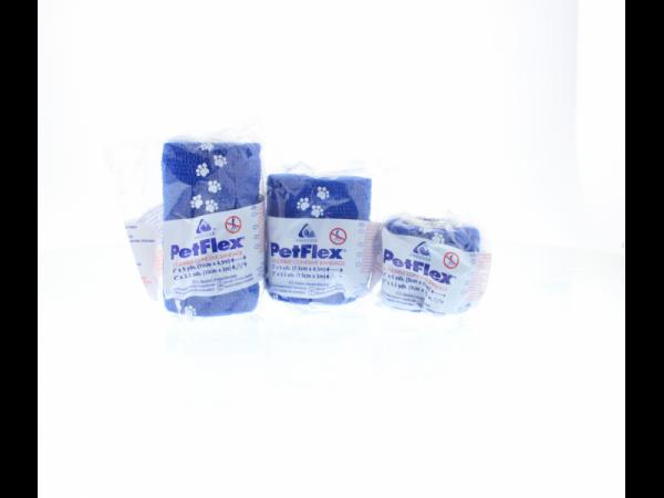 Petflex 5cm x 4,5m bande auto adhesive